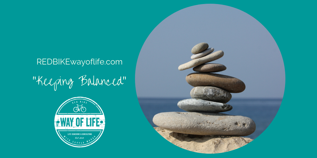 13 ways to keeping balanced…