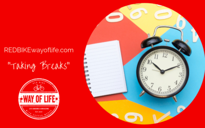 Taking breaks for more happiness & less stress!